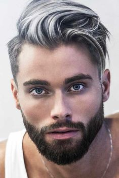 ❤️ Do you know that the comb over is the most versatile haircut? If you are about to freshen up your look and you still don't know what cut to choose, this article is for you. ❤️ Undercut Fade With Comb Over Cool Hairstyles For Men, Haircuts For Curly Hair, Undercut Hairstyles, Undercut Fade, Undercut Combover, Male Hairstyles, Men's Hairstyles, White Hair Men, Silver Hair Men
