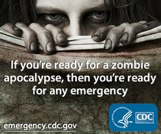 Zombie Survival Hungry Minds Teen Group meets on June 8 @ 6 pm. We'll make zombie survival kits and paracord survival bracelets. Will you be ready when the zombie apocalypse comes? Cdc Zombie, Zombie Plan, Dead Zombie, Zombie News, Zombie Survival Guide, Zombie Apocalypse Survival, Zombie Apocolypse, Survival Stuff, Survival Tips