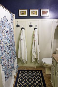 """Our 3 kids share the """"guest"""" bathroom; it's a small mauve cave with no natural light and the builder grade orange oak trim and cabinets the rest of the house ha… Budget Bathroom, Small Bathroom, Bathroom Makeovers, Bathroom Ideas, Natural Bathroom, Bathroom Inspo, Bathroom Furniture, Bathroom Inspiration, Bathroom Before After"""
