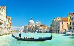 ヴェネツィア, ゴンドラ, 夏, ヴェネツィアの漕ぎボート, イタリア
