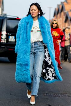 The Milan Fashion Week Street Style Looks We Want To Copy - Tiffany Hsu At Milan Fashion Week from InStyle.com