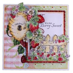 Berry Cafe Card Kit