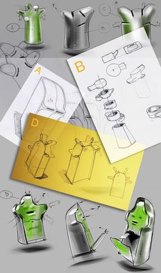 Making of the Tetra Pak recycling containers/art.lebedev studio.