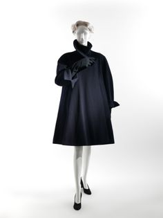 Charles James (American, born Great Britain, 1906–1978). Coat, 1951. Wool. The Metropolitan Museum of Art, New York.