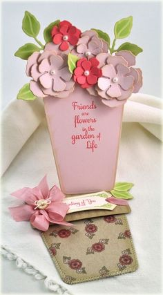Such nice work on this flower pot card
