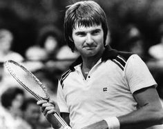 Jimmy Connors back in the day.
