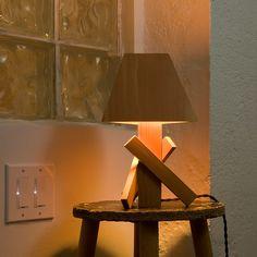 modern wood lamp