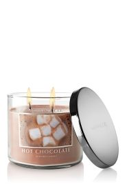 Hot Chocolate Candle from Bath and Bodyworks.  Yum!