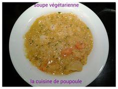 Si vous réalisez une de mes recettes envoyer (christelle.traynard@wanadoo.fr) moi les photos (ou si vous avez un blog le lien de votre recette) pour une petite mise à l'honneur. C oucou, Me revoilà avec mes soupes, mais comme je vous l'aie déjà dit on...