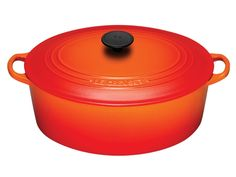 Le Creuset Oval French Oven....this is my favorite pot to cook in!