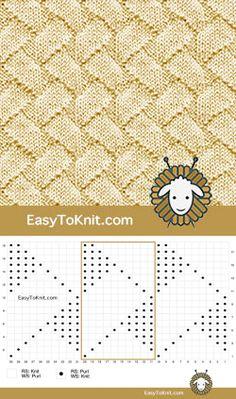 Knit Purl 49: Zig Zag Lines - Легко вязать