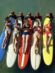 Let's go surfing now...