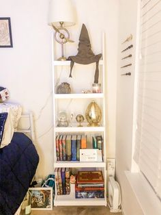 and my HP bookshelf to go with my nook ⚡️📚 : harrypotter