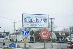 Rhode Island State Sign (Taken March 2012)