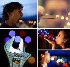 Glitterati: forced perspective photography