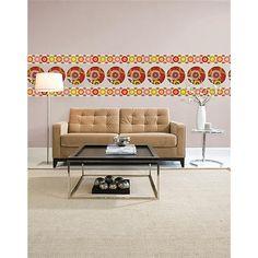 WallPops Carnivale Dots and Stripes #walldecals  #wallart  #peelandstick  #WallPops  #wallstickers  #decor  #DIY  #decorating