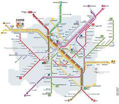 Metronetz Mailand