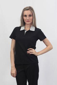 Camisa Polo Feminina - Uniforme Social - Uniformes Profissionais e Sociais  Masculinos e Femininos edd925005cc45
