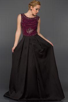 Uzun Prenses Abiye Elbise AN2486