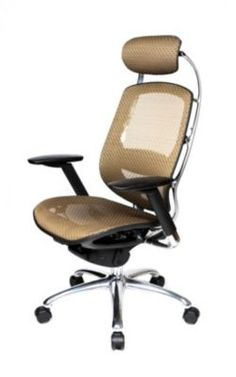 Shop Staples® for At The Office ® One Series Mesh Executive High-Back Chair, Brown and enjoy everyday low prices, plus FREE shipping on orders over $39.99. http://www.staples.com/ATO-One-Series-Mesh-Executive-High-Back-Chair-Brown/product_395767