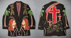 Keith Richards Nudie Suit. Love it.