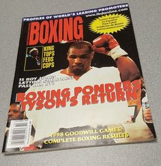 MIKE TYSON International BOXING DIGEST October 1998 Magazine RINCO LATINO