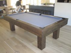 Pottery Barn Style Rustic Pool Table Rustic Pool Tables - Pool table repair service near me
