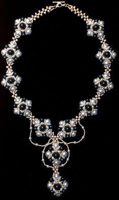 Royal Ball Necklace - Swarovski Crystal Pearls