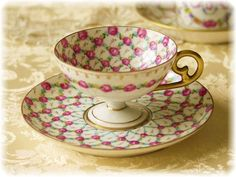 Dresden Teacup and Saucer
