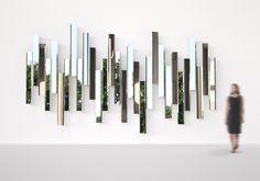 mirrored plates   designed by renowned japanese designer tokujin yoshioka