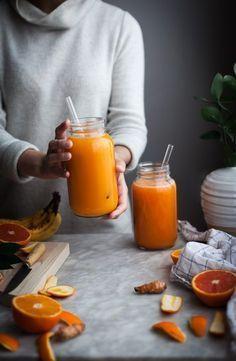Pineapple Orange Banana Juice Vanilla