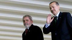 El presidente Recep Tayyip Erdogan se solidarizó con Lula da Silva y Dilma Rousseff por la crisis política de Brasil - Infobae.com