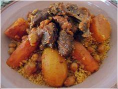 Couscous mit Lamm