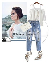 Shein 1/10 by mell-2405 on Polyvore featuring polyvore fashion style Chanel clothing
