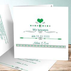 hochzeitseinladungen selbst gestalten | hochzeitseinladungen, Einladung