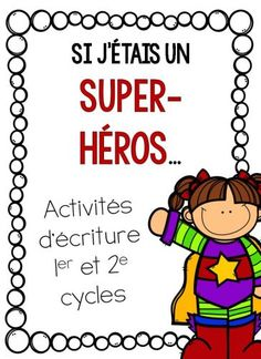Diapositive1 English Activities, Writing Activities, Activities For Kids, Primary School, Elementary Schools, Superhero Classroom, Core French, French Classroom, Future Jobs