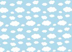 R$ 5,90 o metro. TNT estampado nuvem. TNT com Estampa de nuvem. Tecido estampado nuvem. Tecido com Estampa de nuvem. Decoração e festa com Estampa de nuvem. TNT céu azul com nuvens. TNT Mewi com estampa de nuvem.