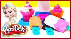Play Doh Softy Ice Cream Swirl Make Ice Cream Swirls Make Play-Doh Popsicle