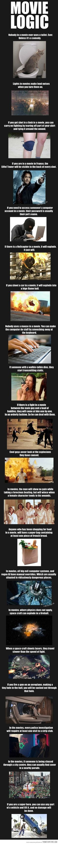 Movie logic…