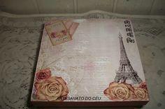 Caixa Vintage Paris - R$ 25,00 Cod. PCX 144