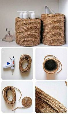 - The Effective Pictures We Offer You About diy A quality picture can tell you many things. Rope Crafts, Diy Home Crafts, Crafts To Sell, Stick Crafts, Beach Crafts, Upcycled Crafts, Diy Para A Casa, Diy Casa, Diy Furniture Decor