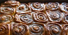 Slow Cooker Cinnamon Rolls - Just roll with it: Learn how to make easy and delicious cinnamon rolls in a crock pot. Satisfy your sweet tooth with these slow cooker cinnamon rolls. Cinnamon Bun Recipe, Cinnamon Rolls, Slow Cooker Recipes, Crockpot Recipes, Cooking Recipes, Cheese Recipes, Easy Recipes, Thing 1, Tasting Table