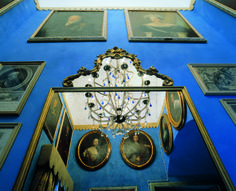 Suite Duca di Genova, small lvinig room - Papal VIlla - Relais La Suvera, Tuscany