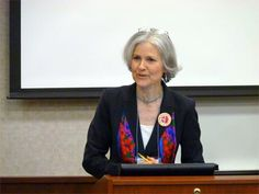 """THE DOCTOR IS IN """"We need to replace the politics of fear with the politics of courage,"""" Stein says."""