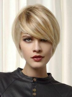 Dressing yourself with our designer short wigs and make you look like stylish and fashion. Short wigs online shopping is your best choice. These short wigs are ideal for looking chic and feeling cool. Short Hairstyles 2015, Short Bob Haircuts, Hairstyles With Bangs, Haircut Short, Blonde Hairstyles, Short Hair Model, Short Human Hair Wigs, Short Hair Designs, Short Hair Styles