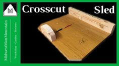 Learn how to build a crosscut sled for your table saw!