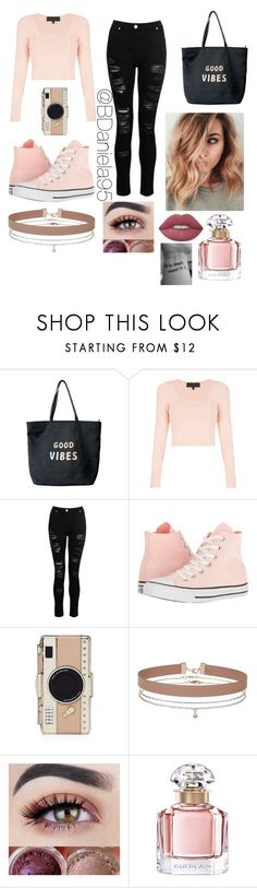 """Untitled #225"" by daniela95140 on Polyvore featuring Venus, Kendall + Kylie, Converse, Kate Spade, Miss Selfridge, Guerlain and Lime Crime"