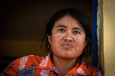 Young Mayan woman in a farmhouse village by Daniele Romeo Ph, via Flickr
