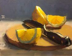 Thomas Ruckstuhl Decided, 24 cm x 30 cm, oil #OilPaintingStillLife #OilPaintingFood