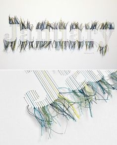 string. art would be great done in names